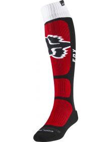 Fox Racing Coolmax Thin Vlar Sock Flame Red