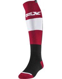 Fox Racing Fri Thin Linc Sock Flame Red