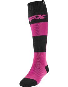 Fox Racing Linc Womens Sock Pink