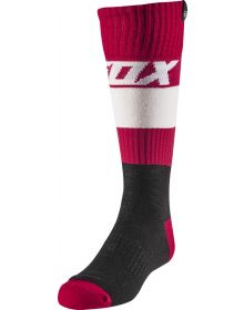 Fox Racing Linc Youth Sock Flame Red