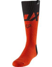Fox Racing Fyce Youth Sock Fluorescent Orange