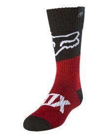Fox Racing Revn Youth Socks Red