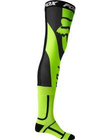 Fox Racing Mirer Knee Brace Socks Flo Yellow