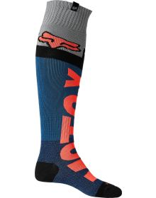Fox Racing Trice Coolmax Thick Socks Dark Indigo