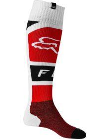 Fox Racing Lux FRI Thin Socks Flo Red