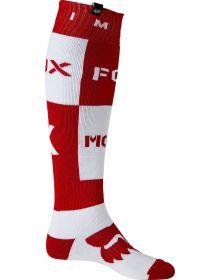 Fox Racing Nobyl FRI Thick Socks Flame Red