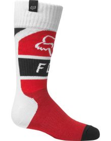 Fox Racing Lux Youth Socks Flo Red