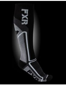 FXR Mission Performace Socks Charcoal