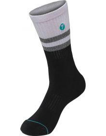 Seven Rival Youth Socks White/Black