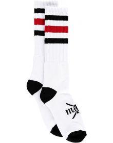 Metal Mulisha Friday Socks White