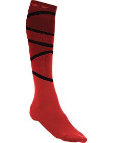 Fly Racing  MX Thick Youth Socks Red/Black