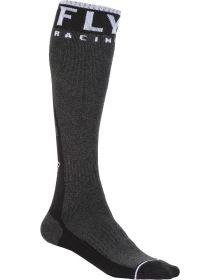 Fly Racing  MX Pro Thick Socks Black/Grey