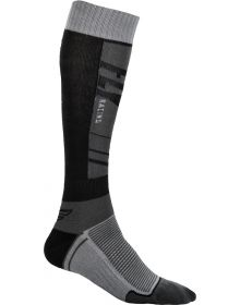 Fly Racing  MX Thin Socks Grey/Black