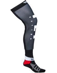 Fly Racing  MX Knee Socks Black/White/Grey