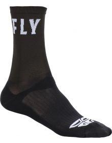 Fly Racing  Casual Crew Socks Black
