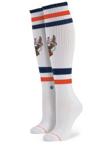 Stance Historic Harley Davidson Womens Socks White One Size