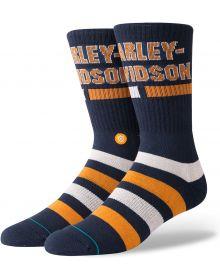 Stance Harley Davidson Bars Socks Navy