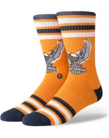 Stance Harley Davidson Eagle Socks Orange