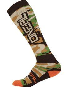 O'Neal Pro MX Socks Woods Camo