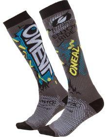 O'Neal Pro MX Villain Socks Gray