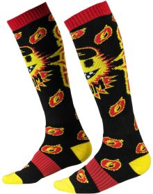 O'Neal Pro MX Boom Socks Black/Yellow