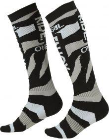 O'Neal 2022 Zooneal MX Socks Black/White