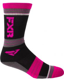 FXR Turbo Womens Athletic Socks 2 Pack Multi Colour