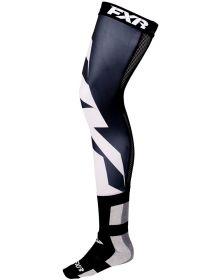 FXR Clutch Riding Socks Black/Grey 1-Pair