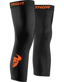 Thor Knee Brace Sleeve / Socks Black/Red Orange
