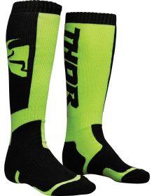 Thor MX Socks Black/Lime