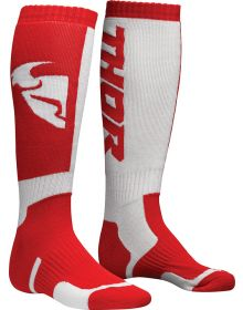 Thor MX Youth Socks Red/White