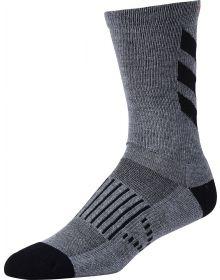 Troy Lee Designs Escape Crew Socks Grey/Black