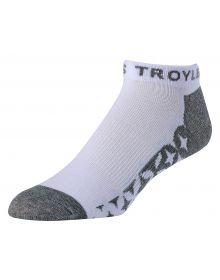 Troy Lee Designs Starburst Ankle Socks White