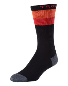 Troy Lee Designs Corsa Crew Socks Black