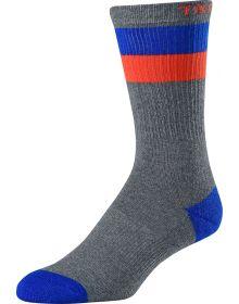 Troy Lee Designs Corsa Crew Socks Heather Gray