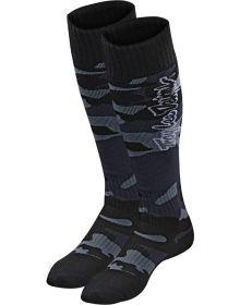 Troy Lee Designs GP Coolmax Thick Socks Camo Black