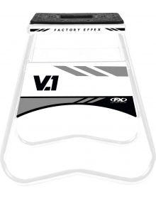 Factory Effex V1 Bike Stand Suzuki White