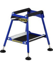 Unit Fit Race Adjustable Bike Stand Blue
