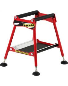 Unit Fit Race Adjustable Bike Stand Red