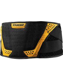 Thor Clinch Kidney Belt Black/Yellow