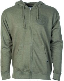 Factory Effex Script Pullover Sweatshirt Olive