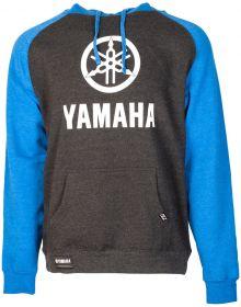 Factory Effex Yamaha Stack Pullover Sweatshirt Charcoal/Royal