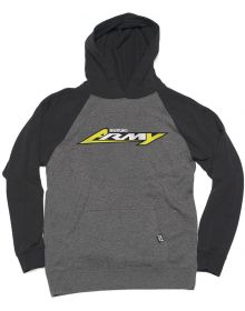 Factory Effex Suzuki Army Youth Pullover Sweatshirt Charcoal/Black