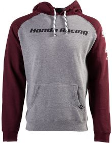 Factory Effex Honda Racing Pullover Sweatshirt Gray/Burgundy