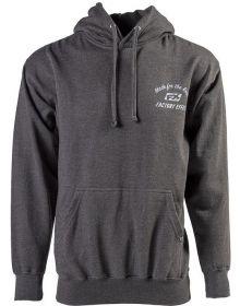 Factory Effex Anthem Zip Up Sweatshirt Charcoal Heather