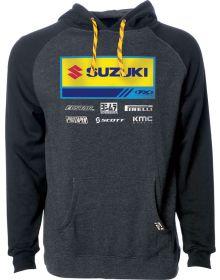 Factory Effex Suzuki 2021 Pullover Sweatshirt Charcoal/Black