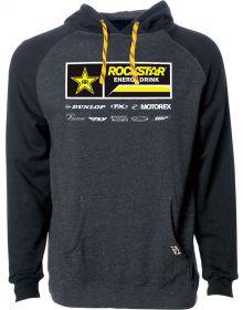 Factory Effex Rockstar 2021 Pullover Sweatshirt Charcoal/Black