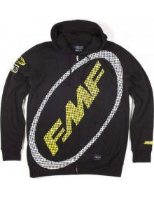 FMF DM18 SX Sweatshirt Black/Yellow