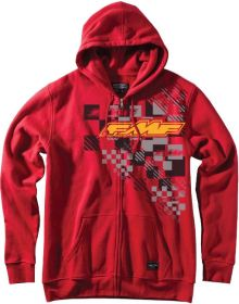 FMF Guessing Zip Sweatshirt Red