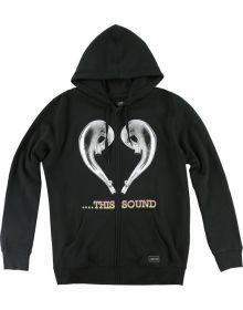 FMF Love this Sound Zip Sweatshirt Black